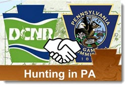 Hunting in PA interactive map