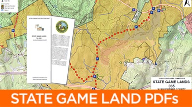 Pgc Mapping Center State Game Lands Pdf Maps
