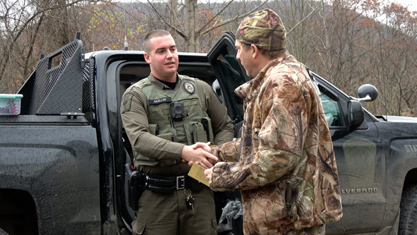 State Game Warden recruitment video