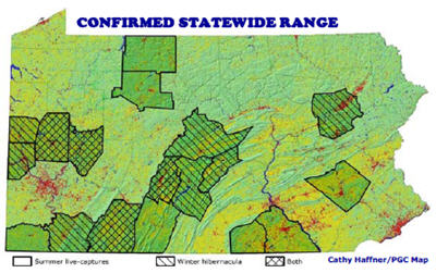 Indiana Bat on precipitation map, land use map, tree zone map, plant map, density map, planting map, climate map, sugar maple map, terrain map, tree biome map, wood map, types of trees map, tree kingdom map,