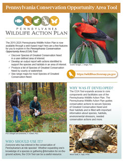 Conservation Opportunity Area Tool Fact Sheet